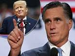 「Mitt Romney harsh words against trump 」の画像検索結果