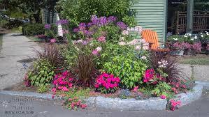Small Picture rooftop flower garden design ideas mediterranean style flower bed
