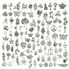 Wholesale Bulk Lots Jewelry Making Silver Charms ... - Amazon.com