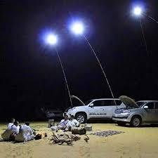 GONGting 2 in 1Portable LED Camping Lantern Light <b>Telescopic</b> ...