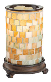 <b>Аромасветильник Glass Mosaic Warmer</b> Sea Glass от Candle ...