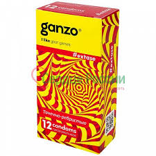 <b>Презервативы</b> Ганзо <b>New</b> Extase 12 шт — <b>Презервативы</b>, гель ...