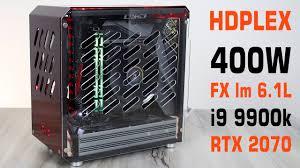 Абсолютно ТИХИЙ и Компактный <b>БП</b> HDPlex <b>400W</b> в МИНИ ...