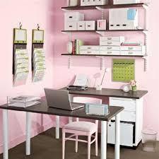 cute small office design ideas for women using two identical tables was a smart idea bathroomglamorous creative small home office desk ideas