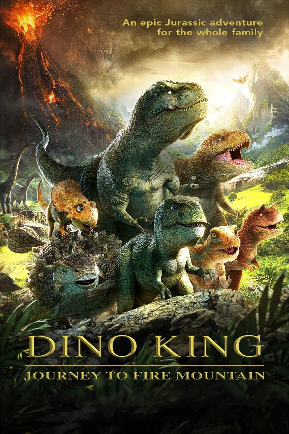 Download Dino King 3D: Journey to Fire Mountain (2019) Dual Audio (Hindi-English) 480p | 720p