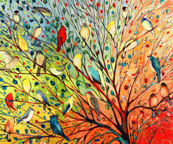 Image result for fun of art birds