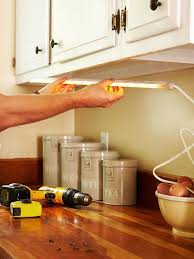 in the right light undercabinet lighting makes performing any countertop task easier and safer todays add undercabinet lighting