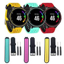 <b>Two Colors 2in1 Watchband</b> Soft Silicone Replacement Wrist Watch ...
