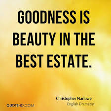Christopher Marlowe Beauty Quotes | QuoteHD
