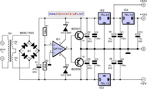 triple power supply circuit diagram