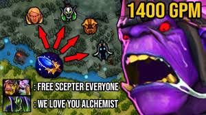 NEW BUFF 5 SCEPTER GIFTED!!! <b>100</b>% CANCER Attack Speed ...