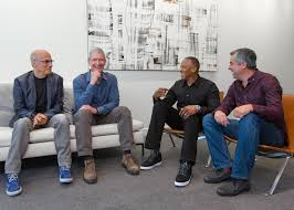 apple beats deal tim cook jimmy iovine eddy cue and dr dre 001 beats by dre office