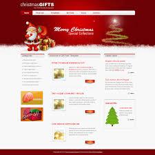template gift red screenshot