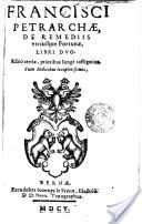 francesco petrarca francisci petrarchae de