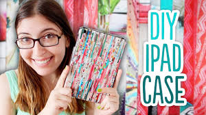 How to Make a DIY <b>iPad Case</b> out of Magazines - YouTube
