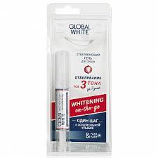 Глобал вайт гель-<b>карандаш для отбеливания зубов</b> 5мл купить ...