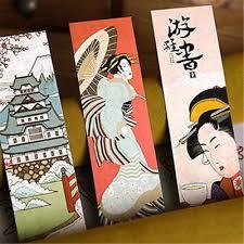 <b>30pcs</b>/<b>lot</b> Cute Paper Bookmark <b>Vintage</b> Japanese Style Book Marks ...