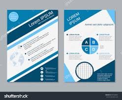 royalty professional modern two sided booklet 404708992 professional modern two sided booklet design business flyer banner brochure poster vector template a4 format stock vector