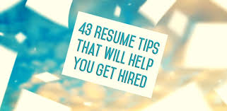resume tips   how to write a resume   the muse