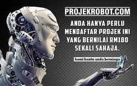 Image result for projek robot