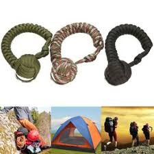 1PC Outdoor Survival Emergency Rope Keychain Self ... - Vova
