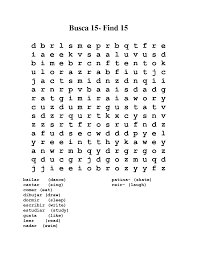 kids spanish word search spanish wordsearch spanish word spanish words