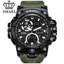 <b>SMAEL</b> Sport <b>Watches</b> for <b>Men Waterproof</b> LED Digital <b>Watch Men's</b> ...