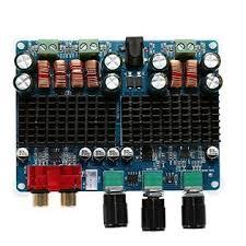 AMIB01K7X4G6S WINGONEER TPA3116 <b>2x50W</b> + <b>100W</b> 2.1 Dual ...