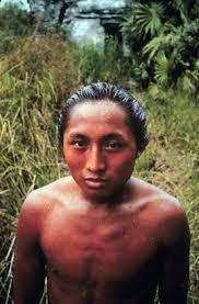 Modern Maya man