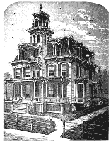 Old House Plans   Free House PlansVictorian House Victorian House Plan
