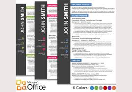 Free Creative Resume Templates Microsoft Word  pages