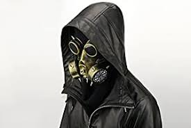N/N <b>Easter Steampunk Gas Mask</b> Goggles Halloween Props Gift ...