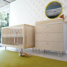 baby nursery spot on square ulm nursery set white pattern wall lacquered wood furniture bedding baby modern furniture