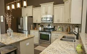 kitchen cabinets with granite countertops: kitchen graceful white cabinets granite countertop jpg image of fresh at model gallery with countertops white