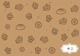 bake vector art s bake pattern 2