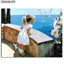 <b>Little</b> Girl Canvas Painting
