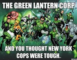 Green Lantern Corp - WeKnowMemes Generator via Relatably.com