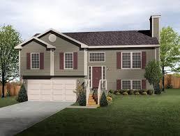Split Level   Home Interior Design IdeasSplit Level Simple With Split Level House Plan Exterior Colors Diy Home Improvement