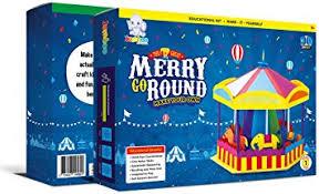 Jumboo Toys <b>DIY 3D</b> Merry Go <b>Round</b> Kids Toy Craft Project Kit ...