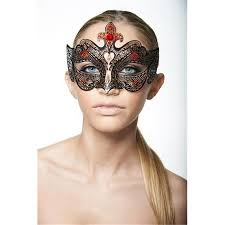Black Luxury Metal Venetian <b>Medieval</b> Laser Cut Masquerade <b>Mask</b> ...