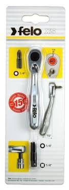 <b>Трещетка 60 зубьев</b> 1/4, <b>Felo</b> 05763501 — купить в интернет ...