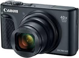 Купить Цифровой <b>фотоаппарат Canon PowerShot SX740</b> черный ...