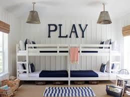 white furniture cool bunk beds:  original lauren leonard blue white kids bedroom sxjpgrendhgtvcom
