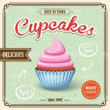 cupcake retro poster stock vector art istock cupcake retro poster royalty stock vector art