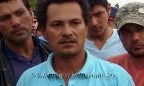 Ruben Villalba, lider carpero, sindicado como principal instigador de la masacre en Campos Morombí de Curuguaty fue detenido esta mañana por la Policía ... - index.php_7