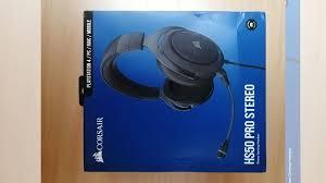 <b>Наушники Corsair Gaming HS50</b> Pro Stereo Carbon купить в ...