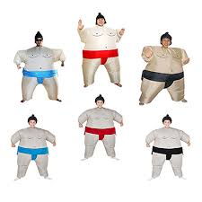 Halloween <b>Costume</b> Adult <b>inflatable Sumo Costumes</b> Carnival ...