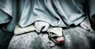 Image result for pictures of mary punching satan