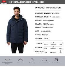 <b>MALIDINU 2019</b> Man <b>Jacket Winter</b> Warm Cotton Padded <b>Coat</b> ...