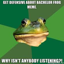 Foul Bachelor Frog - Sharenator.com via Relatably.com